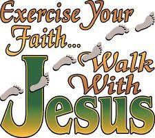 Walk With Jesus Shirt, Christian Shirt, bible, Faith in God Shirt, Sm - 5X