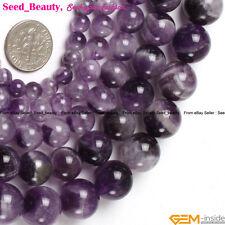 "Natural Genuine Quartz Rutilated Amethyst Citrine Beads15"" Material Size Pick"
