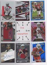 Arizona Cardinals BLOWOUT Lot #2 - Serial #'d - Rookies - Auto - Jersey - U-PICK