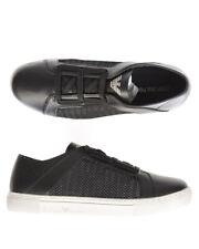 Emporio Armani Shoes Sneaker % LEATHER Man Black X4C472XL205-A013