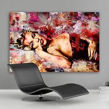Marilyn Monroe Bilder Leinwand Bild  Wandbilder Kunstdrucke Poster Abstrakt Sexy
