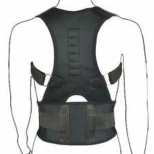 Neopreno Magnético Corrector De Postura Bad Espalda Lumbar Cinturón de Soporte de Hombro Brace