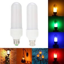 LED Flame Effect Fire Light Corn Bulb E27 B22 5W Simulated Nature Flicking Lamp
