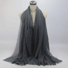 Women Lady Premium Viscose Maxi Crinkle Cloud Hijab Scarf Shawl Soft Islam Scarf