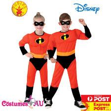 Deluxe Kids Incredibles 2 Costume Mr Incredible Disney Superhero Child Book Week