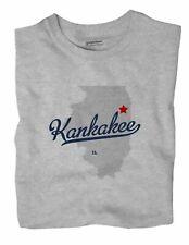 Kankakee Illinois IL Ill T-Shirt MAP