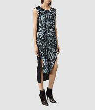 NWT All Saints AllSaints Riviera Leo Blue Dress US 0 2 4 6 Retail 360$