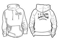 Lund Boats Ash Grey Hoodie Sweatshirt