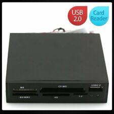 "3.5"" USB 2.0 All-in-1 Internal Flash Drive Memory Card Reader TF/CF/MD/SD/MMC"