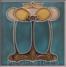 Art Nouveau Arts & Crafts Ceramic Tiles Fireplace Bathroom Kitchen an 31