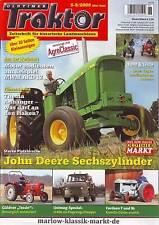 Oldtimer Traktor 5-6/09 John Deere 4010 bis 5020 / Güldner Tessin /Fordson F & N