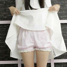 Women Shorts Knickers Pumpkin Bloomers Briefs Underwear Ruffle Lace Lolita