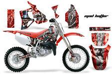 Honda CR80 CR 80 Graphics Kit Dirt Bike Wrap MX Stickers Decals 1996-2002 MAD SR
