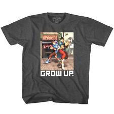 Street Fighter Chun Li Grow Up Kids T Shirt Combat Gamer Boys Girls Top Baby