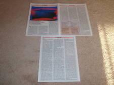 Harman Kardon Citation 22 Amp Review,3 pgs, 1987, Specs
