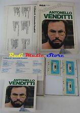 BOX 3 MC ANTONELLO VENDITTI Album cofanetto NO cd lp dvd vhs (*)