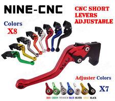 2005 CNC Palancas de embrague de freno extensibles y plegables para Suzuki GS 500F K4 2004