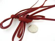 5mm wine PU cord velvet Cord soft Suede velvet Thread Bracelet crafts findings