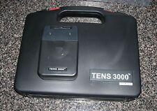 NEW TENS 3000 UNIT WITH ELECTRODES PADS,COMPLETE ---OTC---TENS 3000 UNIT-
