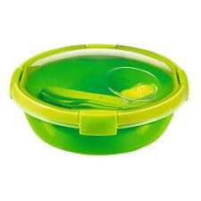 Piatto porta pranzo rotondo con posate 2 Diverse dimensioni Curver Smart To Go