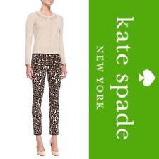 $228 KATE SPADE *AUTUMN LEOPARD BROOME STREET* Slim Skinny Jeans 23 24