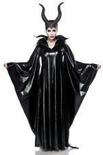 Sexy Da Donna Strega Halloween Costume Carnevale Diavolo streghe Maleficent Set S M L #239
