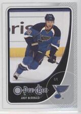 2010-11 O-Pee-Chee #235 Andy McDonald St. Louis Blues Hockey Card