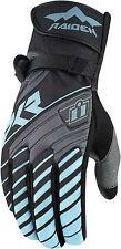 Icon Raiden DKR Ladies Womens Waterproof Motorcycle Adventure Enduro Gloves