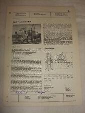 Original DDR Reklame Prospekt Datenblatt Freifallmischer BWW 504 E Polen 1971