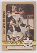 1972-73 O-Pee-Chee #58 Bobby Orr Boston Bruins Hockey Card