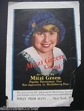 1930s Mitzi Green Magazine Advertisement