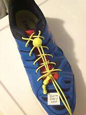 STK#SL1: Shoelaces Pair. No Tie, Locking Hardware, Elastic.9 Colors! Ships Free