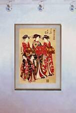 Feminine Beauty 15x22 Japanese Print by Kiyonaga Asian Art Japan