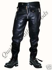 Bespoke authentique en cuir premium pour homme jeans avec spandex pantalon culotte