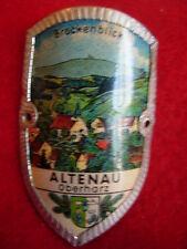 Altenau Oberharz used badge stocknagel hiking medallion G2716