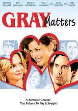 Gray Matters DVD Good Heather Graham Bridget Moynahan