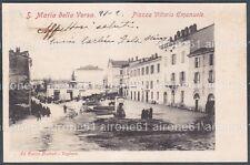 PAVIA SANTA MARIA DELLA VERSA 05 Cartolina viaggiata 1904