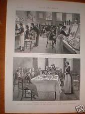 William Street Board School Hammersmith London 1892