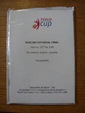 10/05/2008 Tesco English National Cup Finals: U13s Boys Cup, U14s Girls Cup, U16
