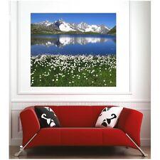 Affiche poster lac montagne  4356064