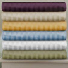 Ultra Soft 4 pc OR 6 pc Sheet Set 1000 TC Egyptian Cotton All Striped AU Single