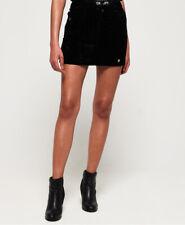 Superdry Womens Leonie Velvet Skirt