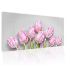 Dipinto astratto su tela Pictures Tulipani Pink
