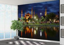 Carta da parati murale BLU Moschea Istanbul Turchia foto murale (16703711) Islam
