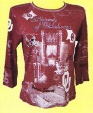 University of Oklahoma Women's Collegiate Fashion Tee Shirts by P. Michael Inc