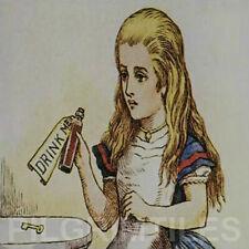 Alice in Wonderland Tiles Fireplace Kitchen Bathroom ref 42
