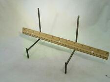 BUTW (2) XLarge wire slab stands lapidary display 1339B
