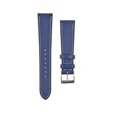 ALMA CHÈVRE Goat Skin Leather WATCHSTRAP COBALT BLUE Bracelet Uhrband