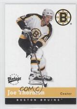 2000-01 Upper Deck Vintage #25 Joe Thornton Boston Bruins Hockey Card