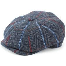 Tweed Hat Peaky Blinders Gatsby Newsboy 8 Panel Flat Cap Walking Hunting New